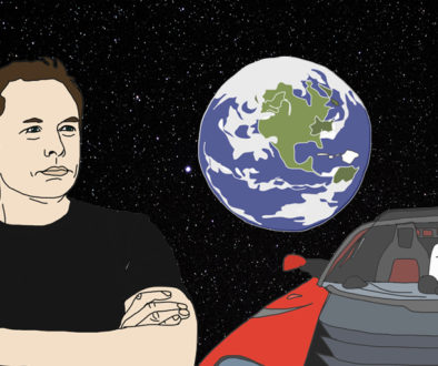 Elon Musk, Tesla e Starman